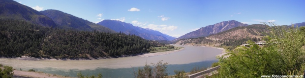 Lytton, Fraser und Thompson River