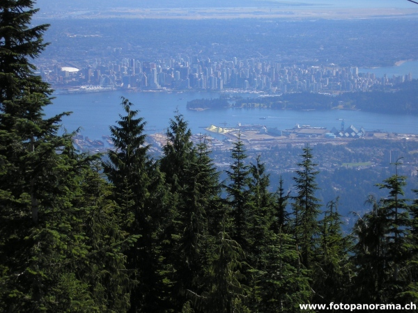Vancouver, gesehen vom Grouse Mountain
