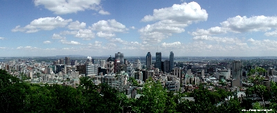 Montreal, Downtown im summer