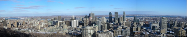 Montreal, Downtown in winter