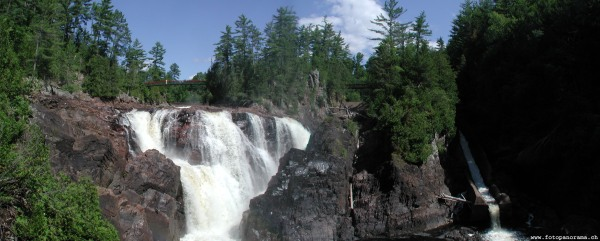 Outaouais, Coulonge Waterfalls