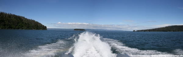 Kachemak Bay, Boat ride