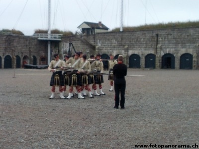 Military Exercise demonstration at the Halifax Citadel (2012)